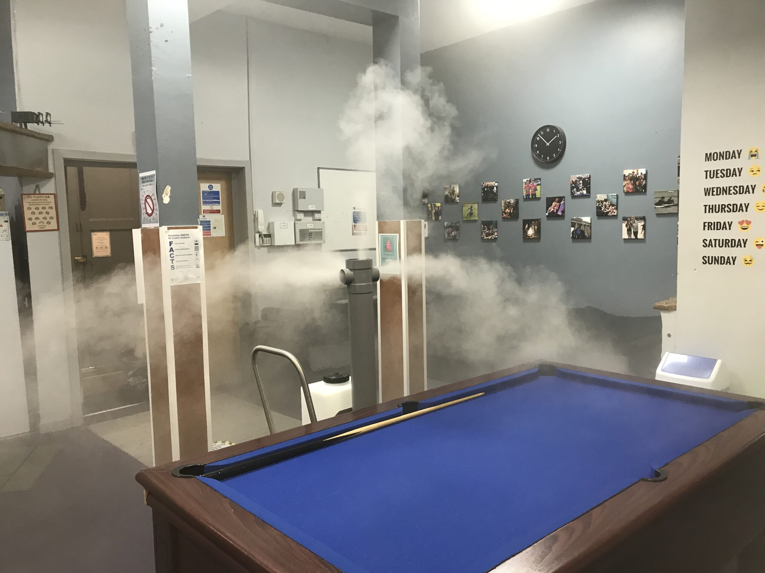 Our new, non-toxic fogging service has arrived!